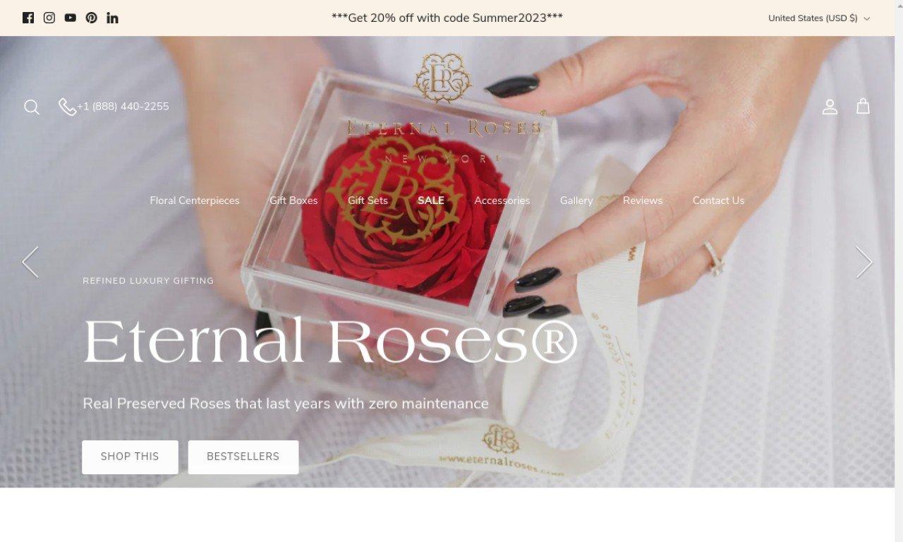 Eternal roses.com 1