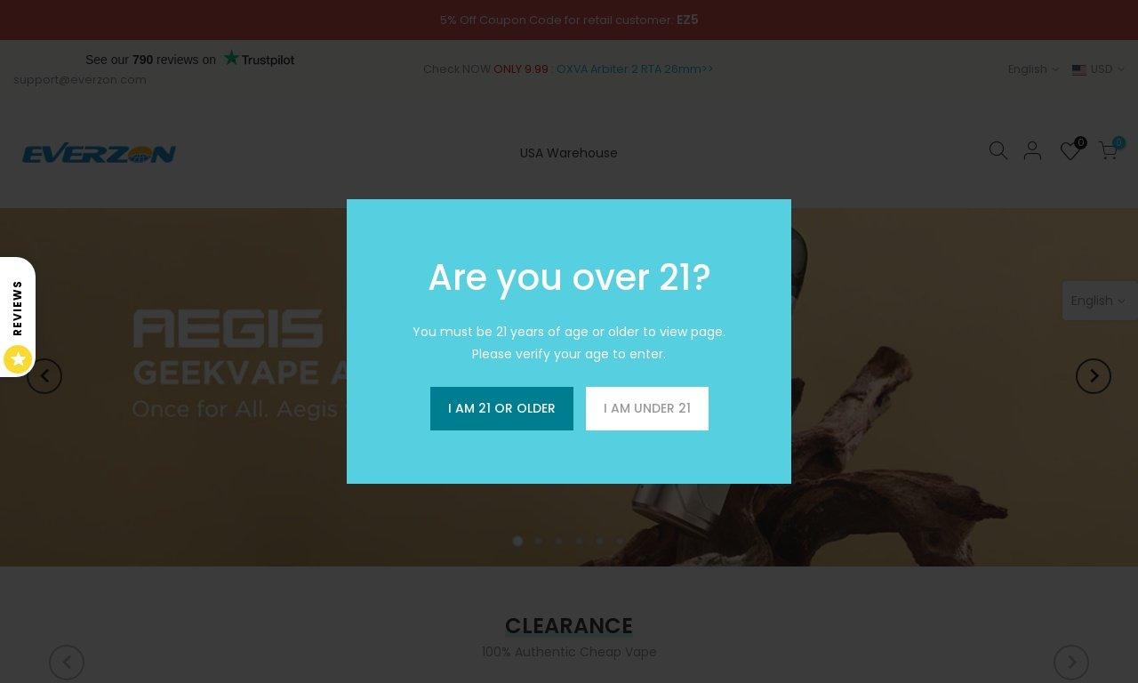 Everzon.com 1