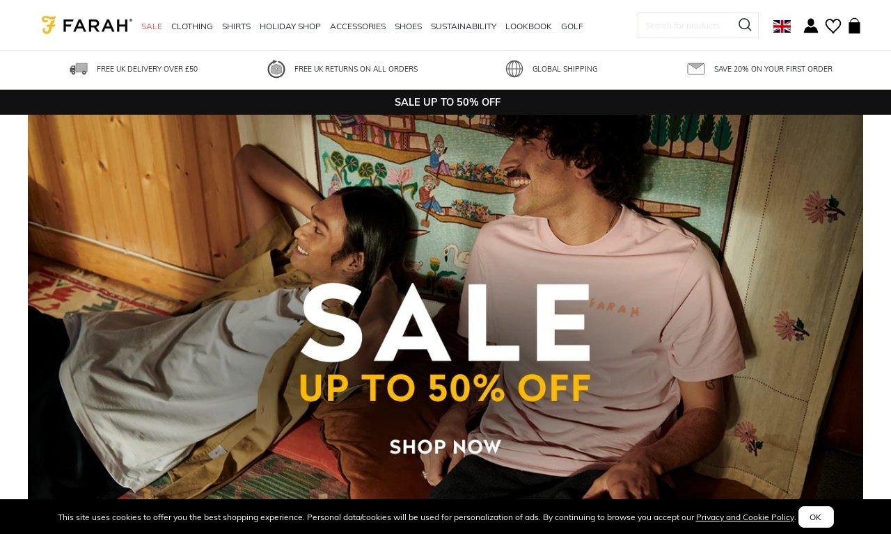Farah.co.uk 1