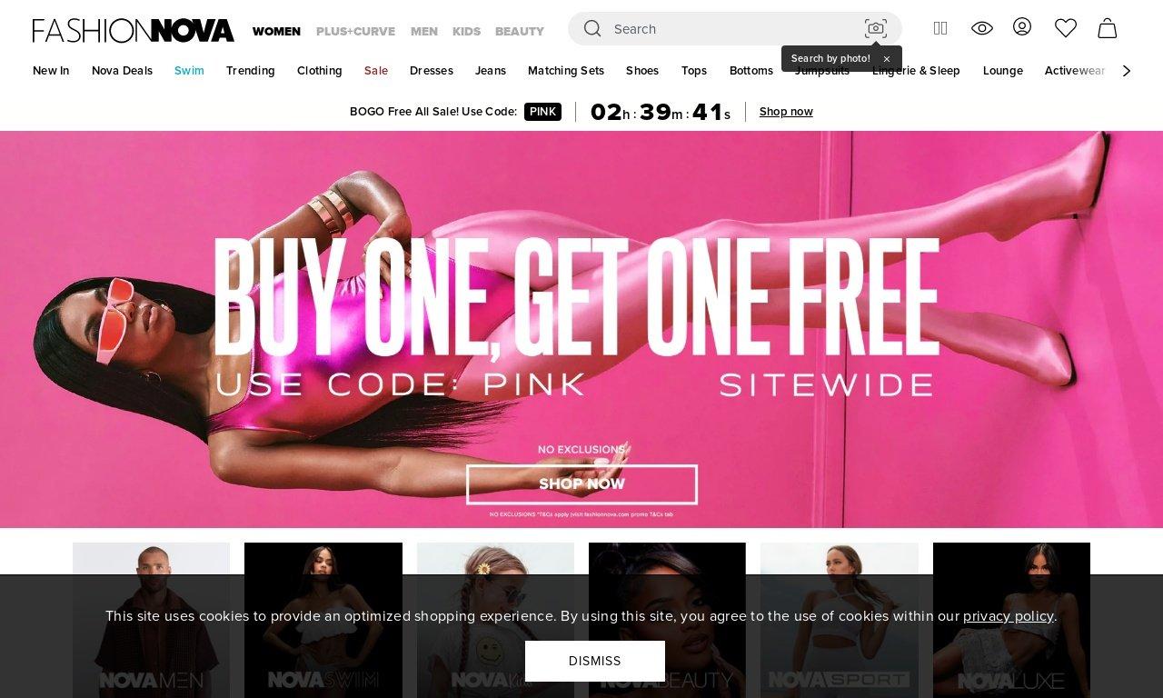 FashionNova.com 1