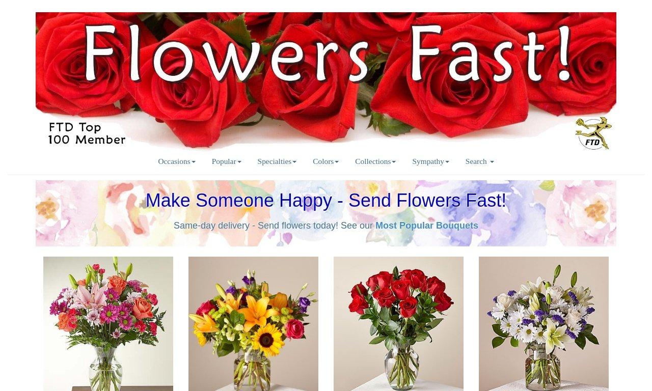 Flowers fast.com 1