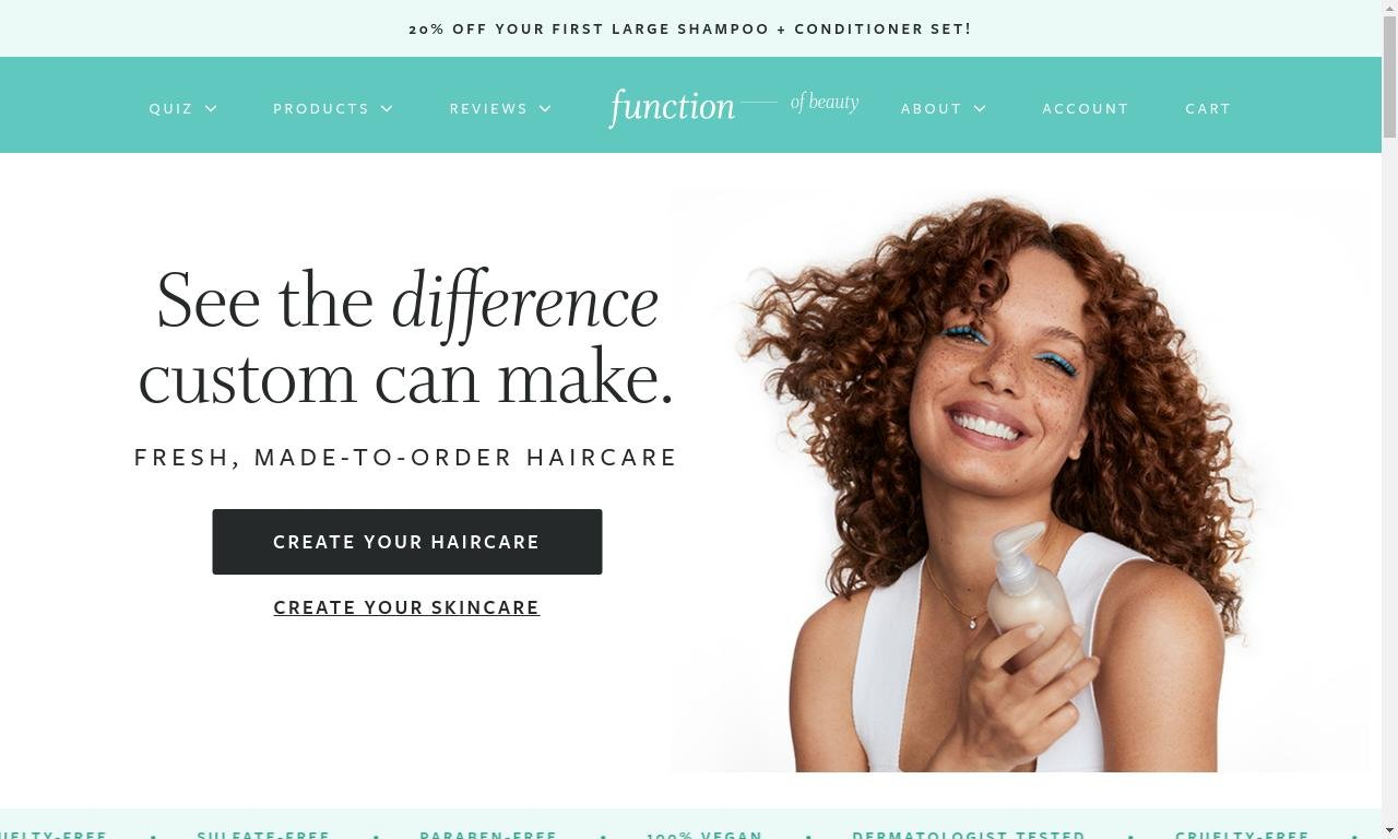 Function of beauty.com 1