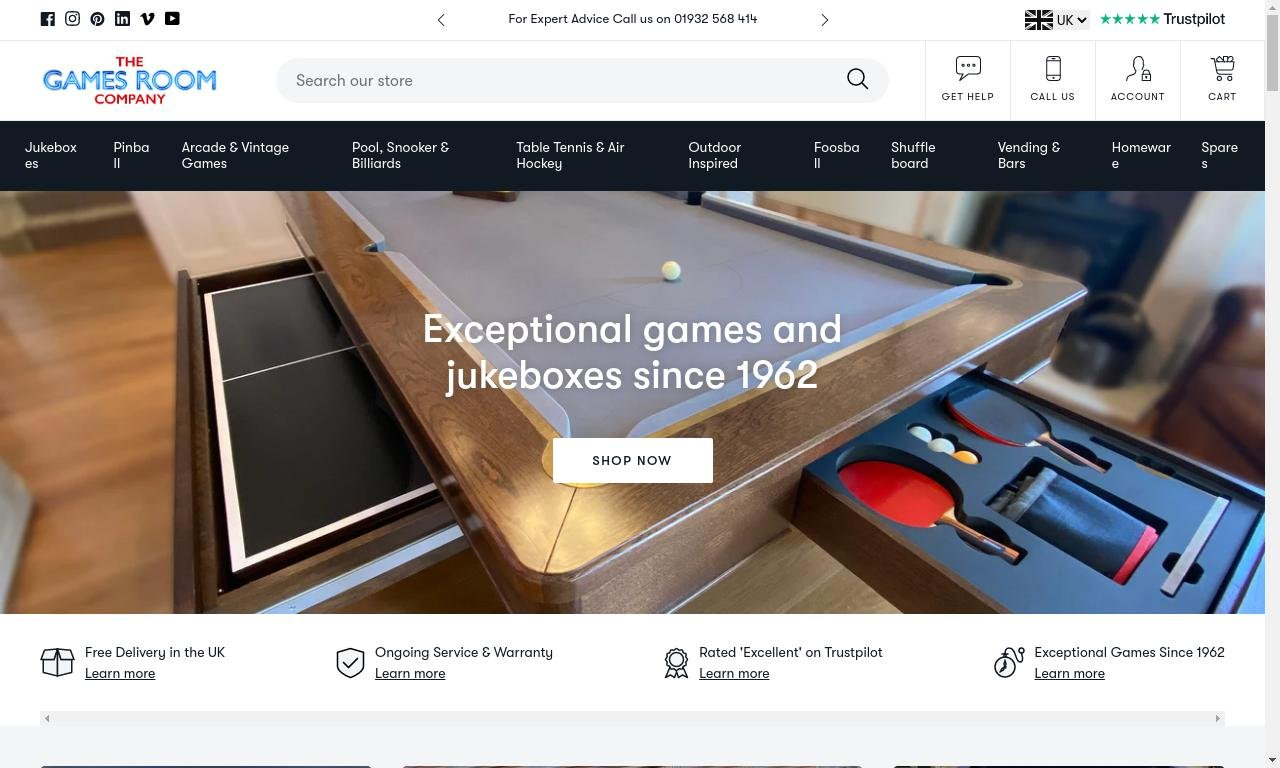 Gamesroomcompany.com 1