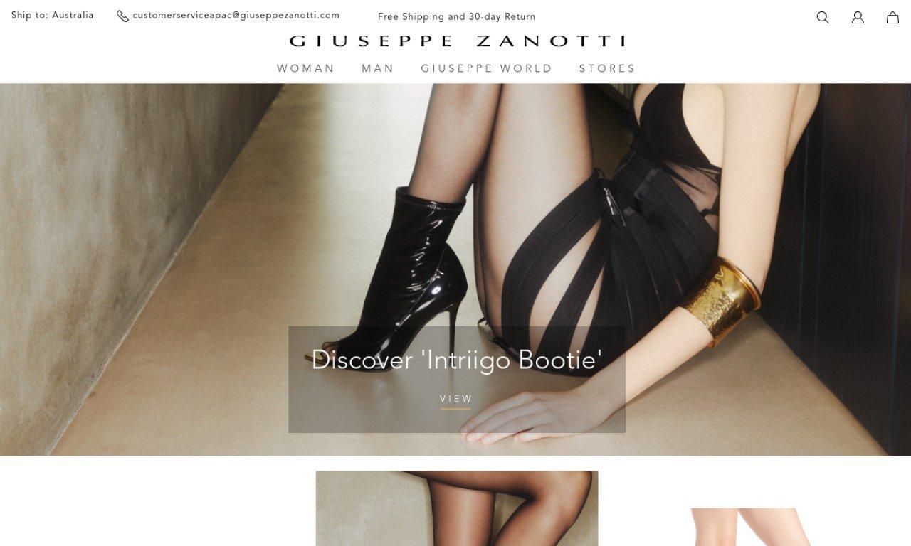 Giuseppe zanotti.com 1
