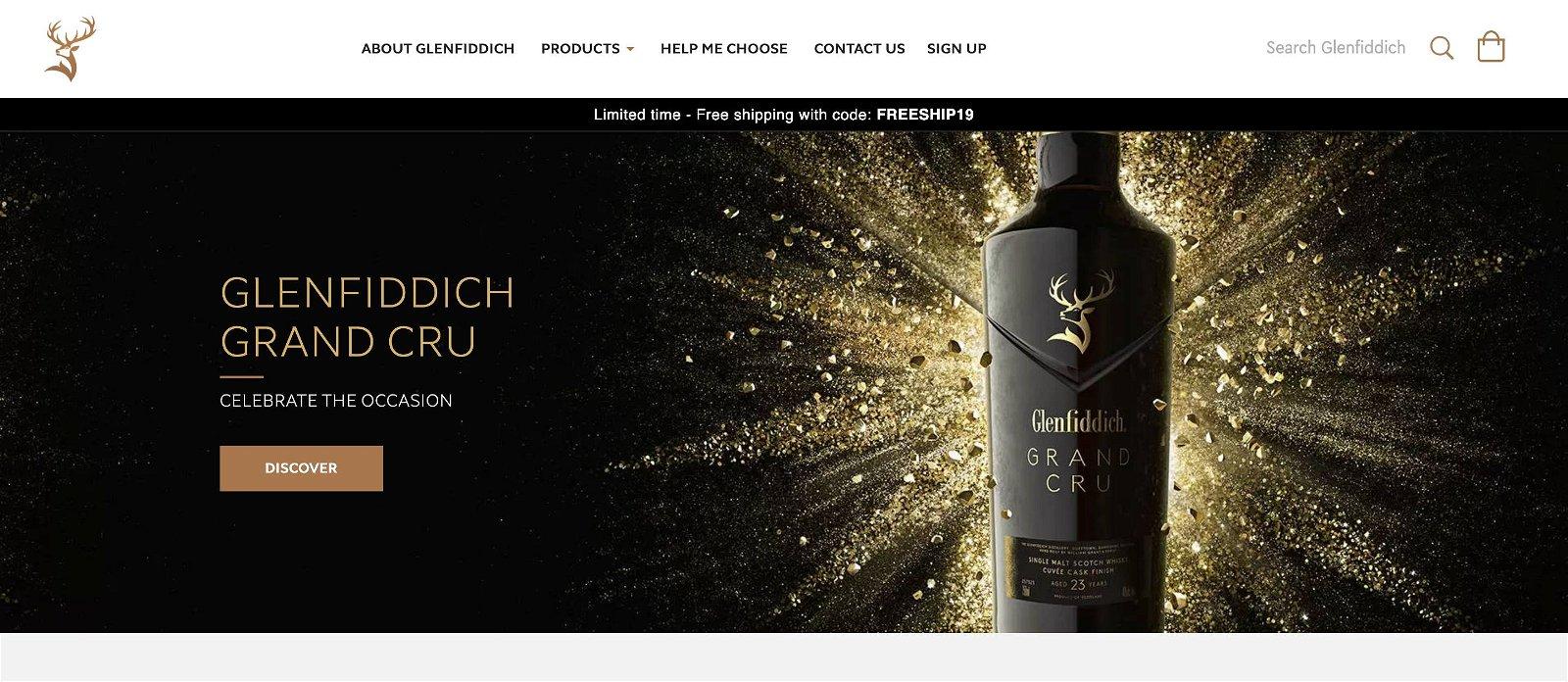 Glenfiddich.com 1