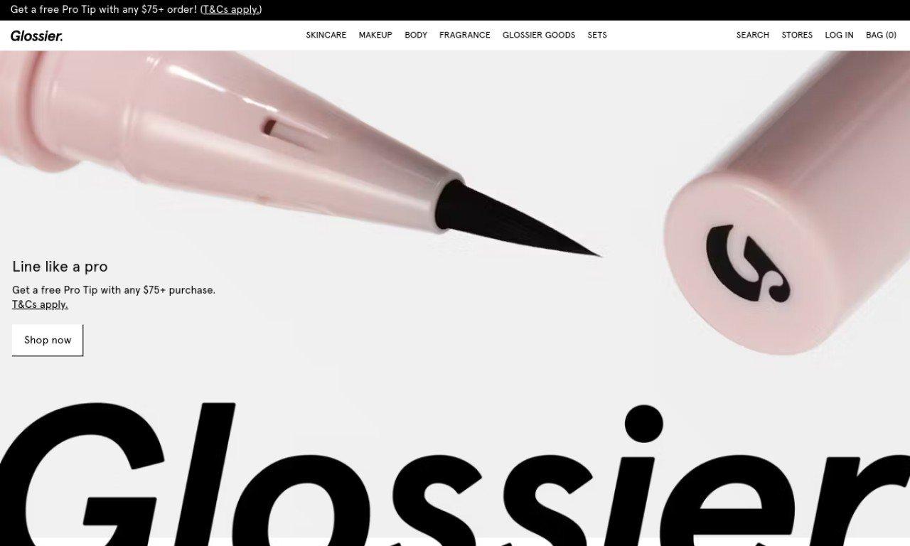 Glossier.com 1