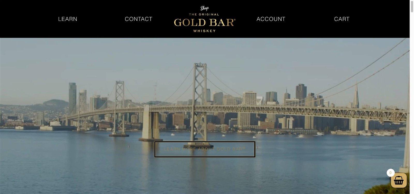 Goldbar whiskey.com 1