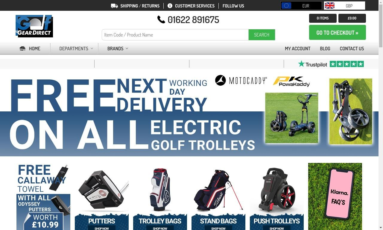 Golf gear direct.co.uk 1