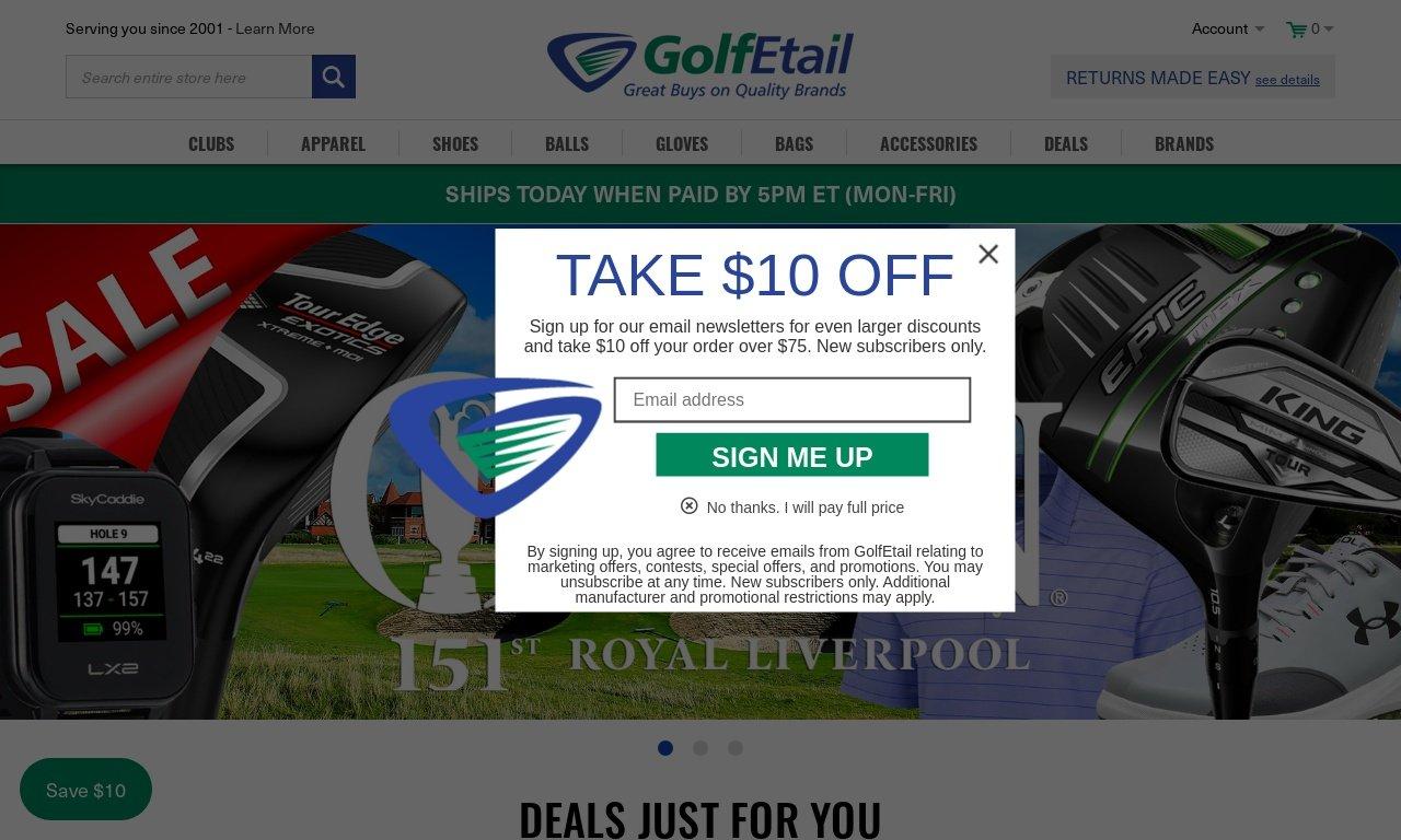 Golfetail.com 1