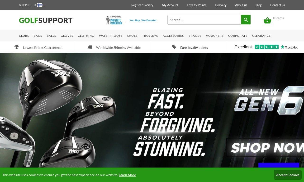 GolfSupport.com 1
