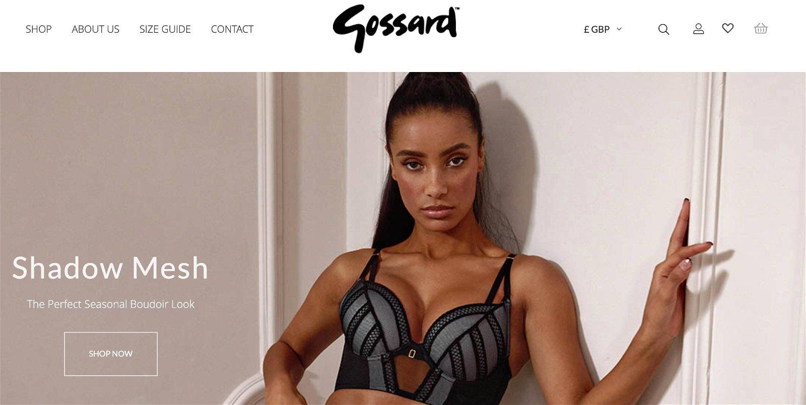 Gossard.com 1