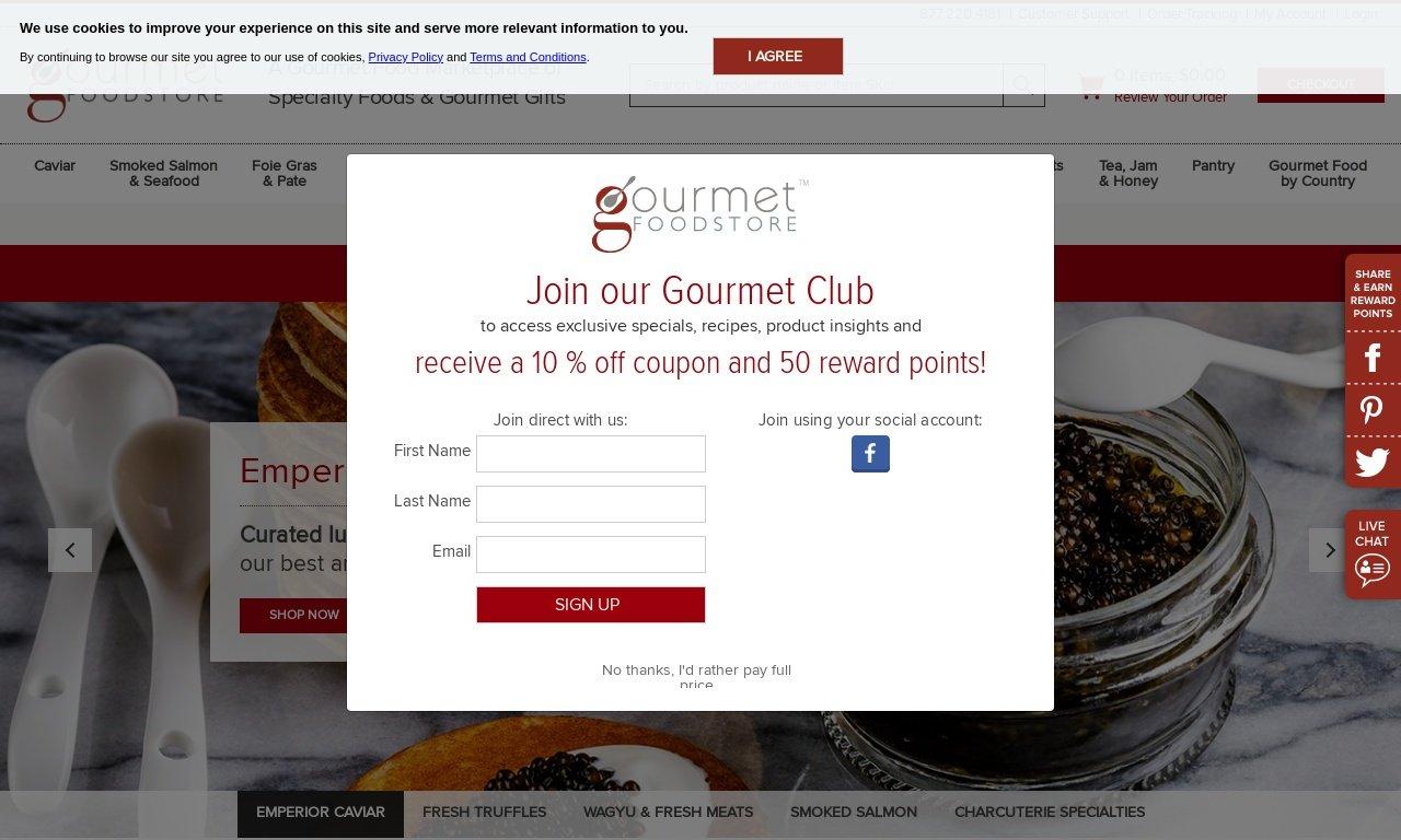 Gourmet food store.com 1