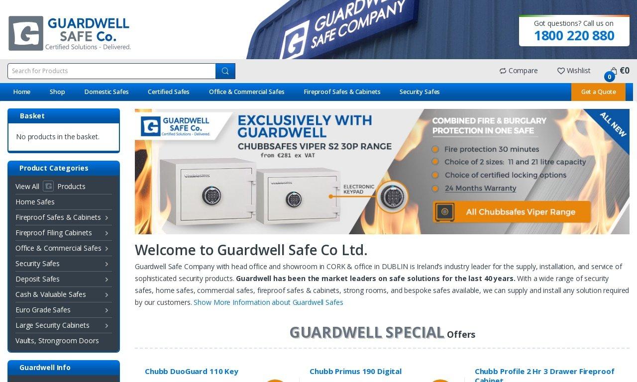 Guardwell safes.ie 1