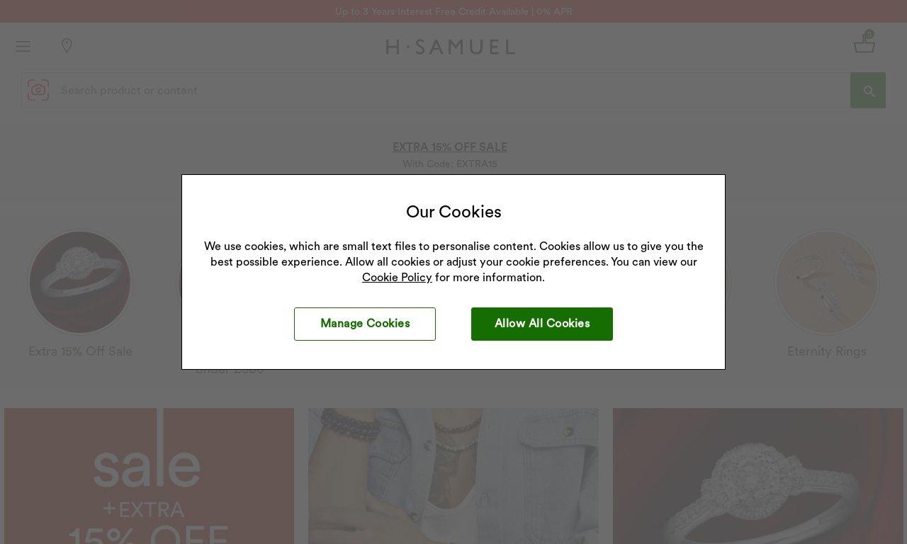 H samuel.co.uk 1