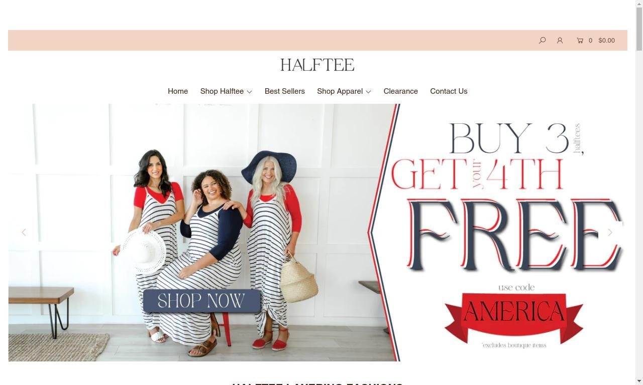 Halftee.com 1