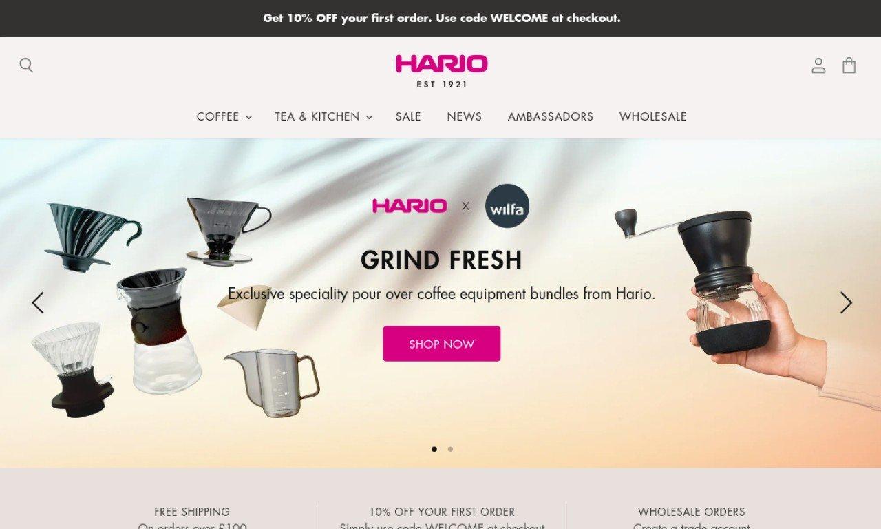 Hario.co.uk 1