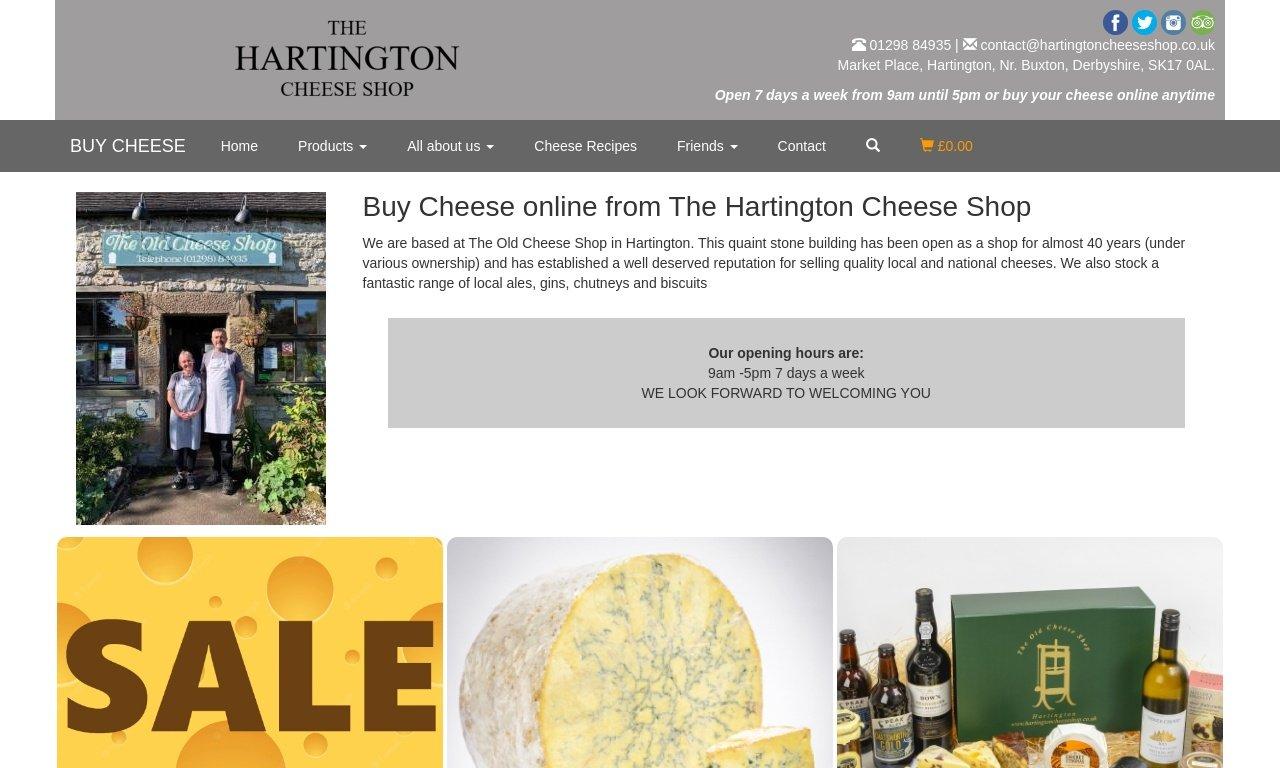 Hartingtoncheeseshop.co.uk 1
