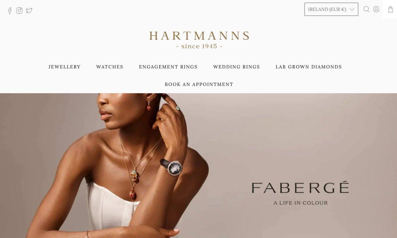 Hartmanns.ie 1