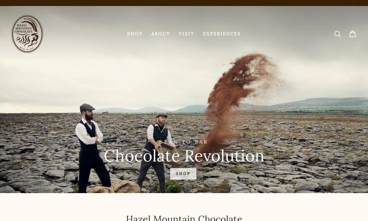 Hazel mountain chocolate.com 1