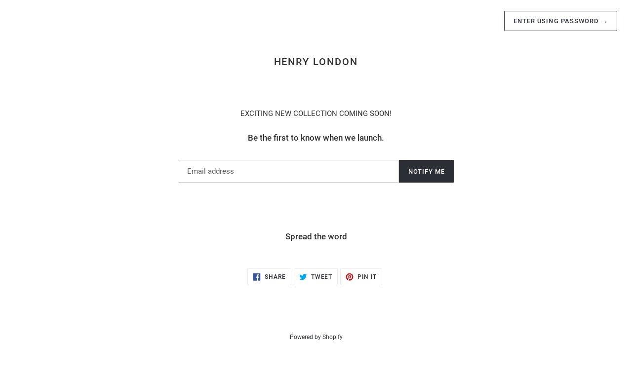 Henry-london.com 1