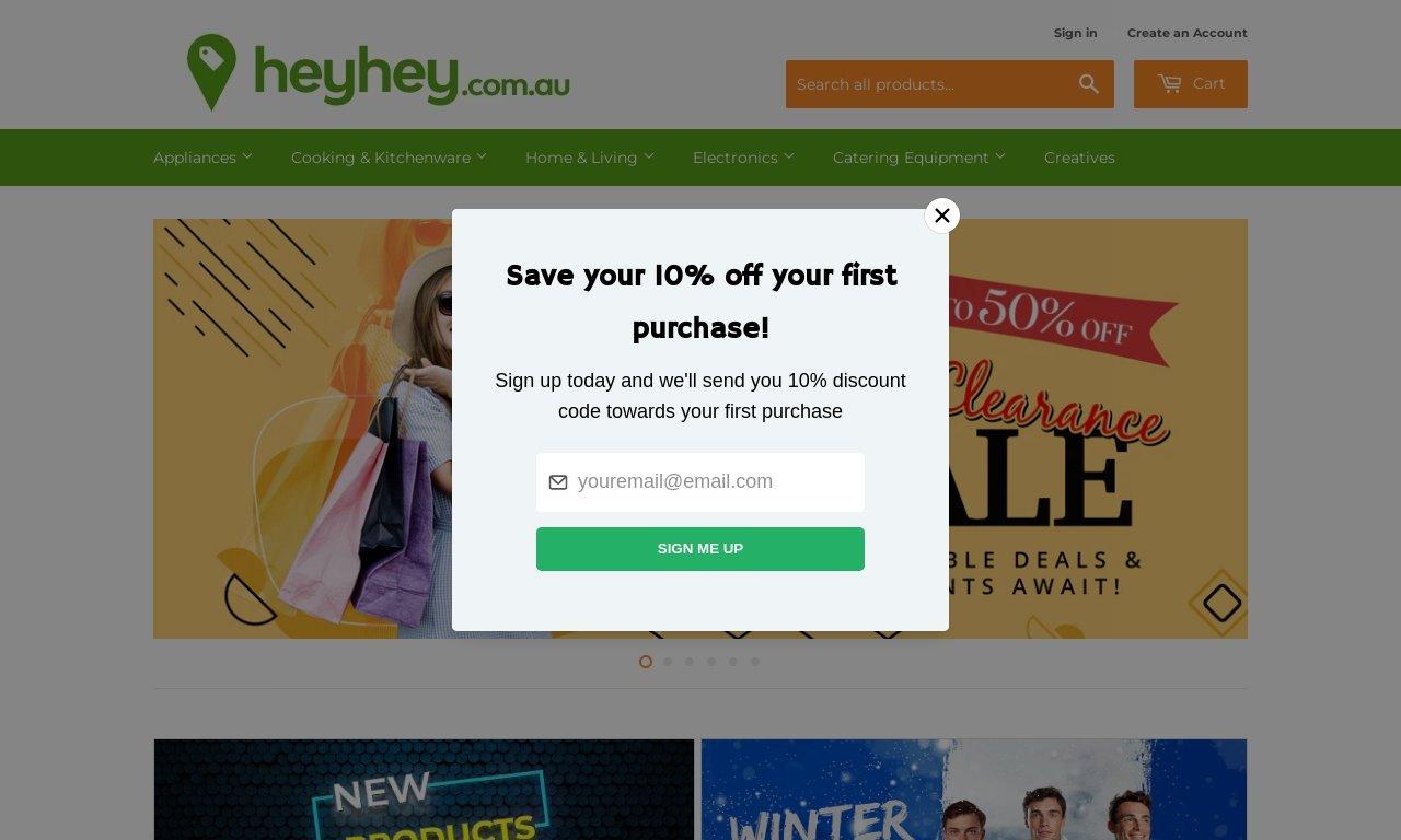 Heyhey.com.au 1