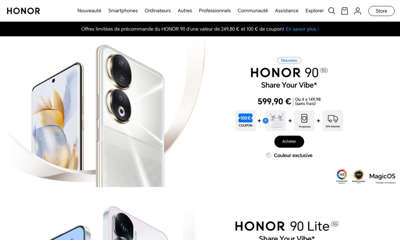 Hihonor.com 1