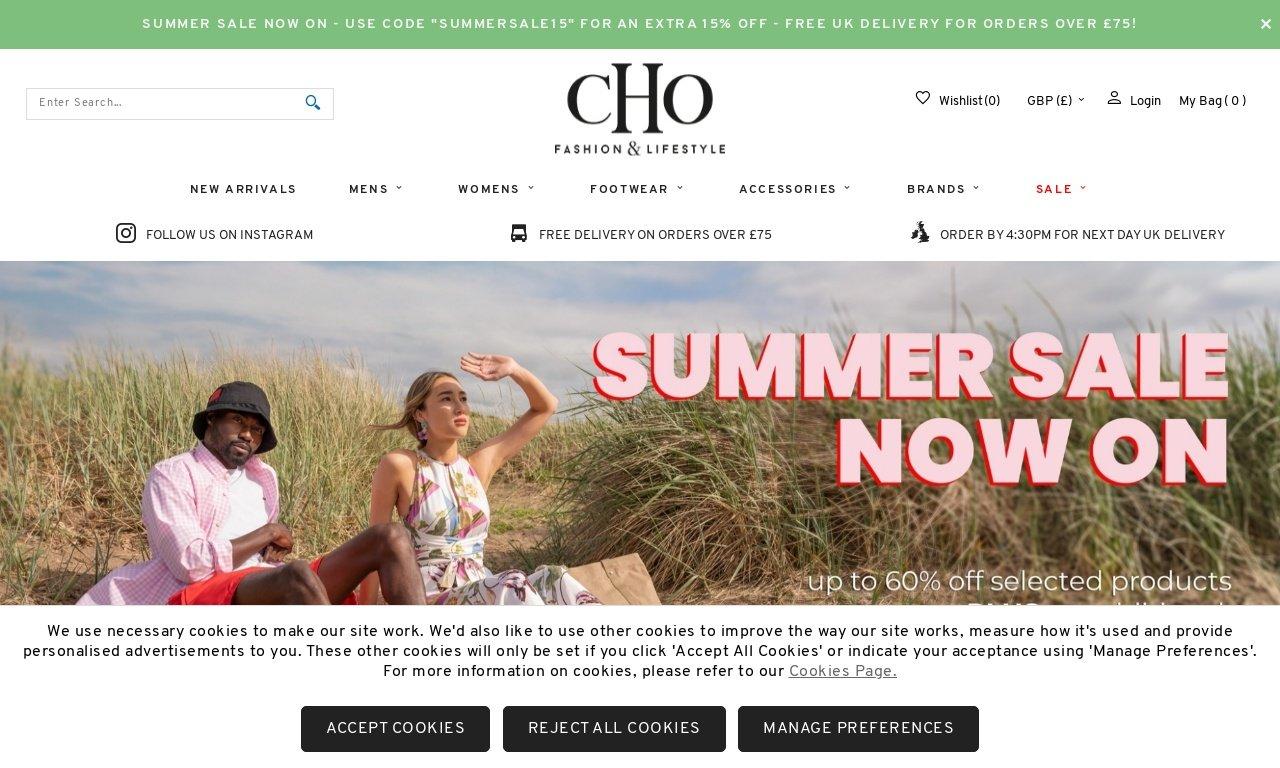 Cho.co.uk 1