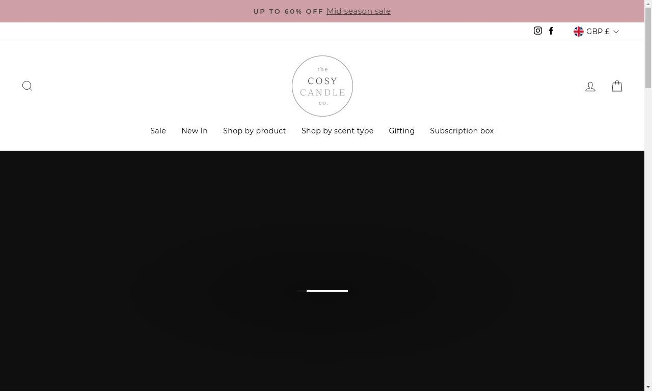 Cosy candle co.com 1