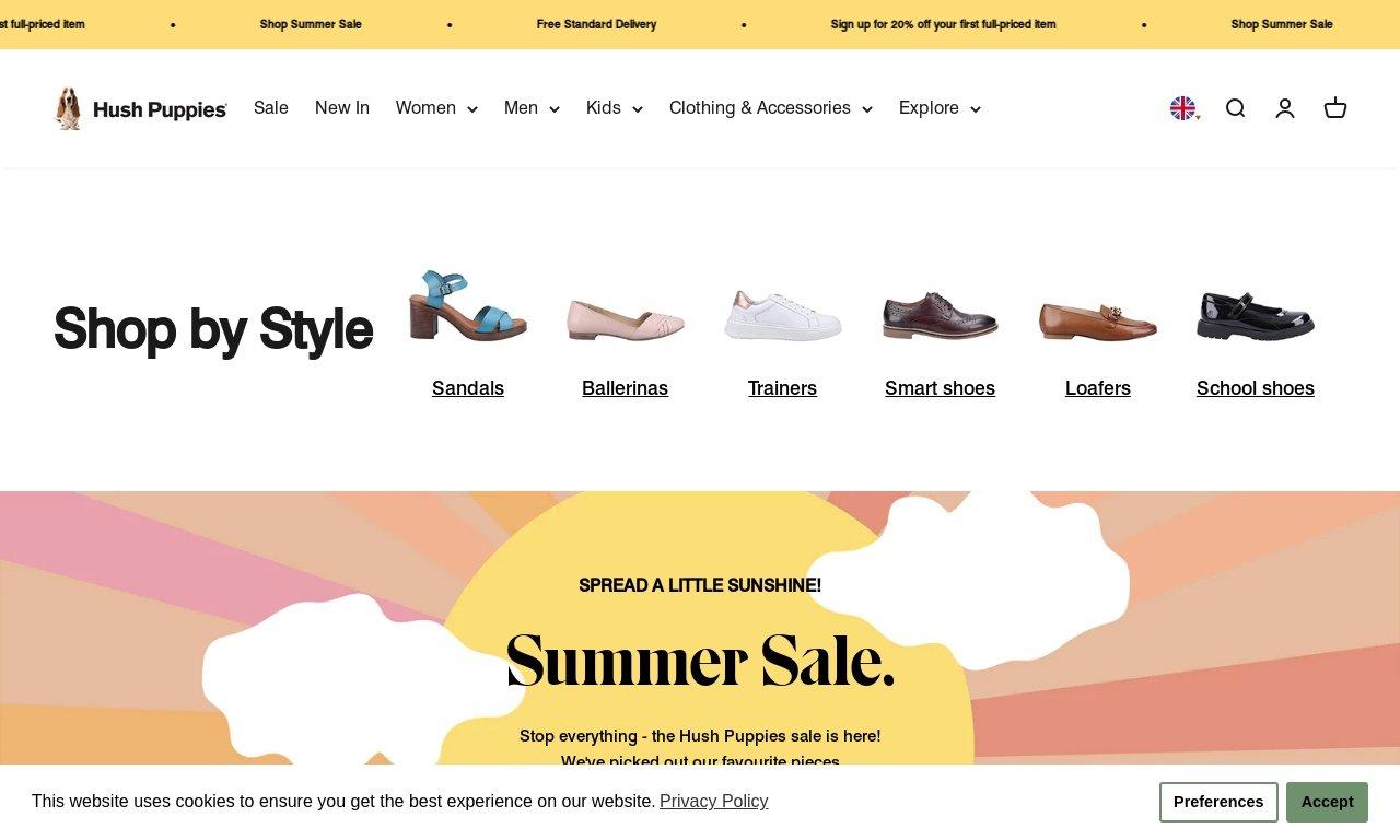 Hush puppies.com 1