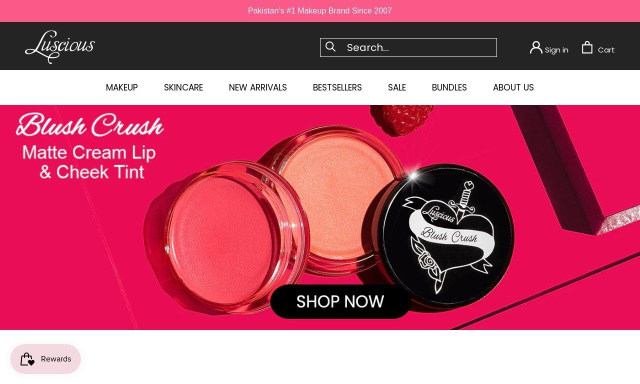 Luscious cosmetics.pk 1