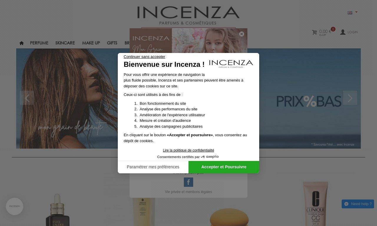 Incenza.com 1
