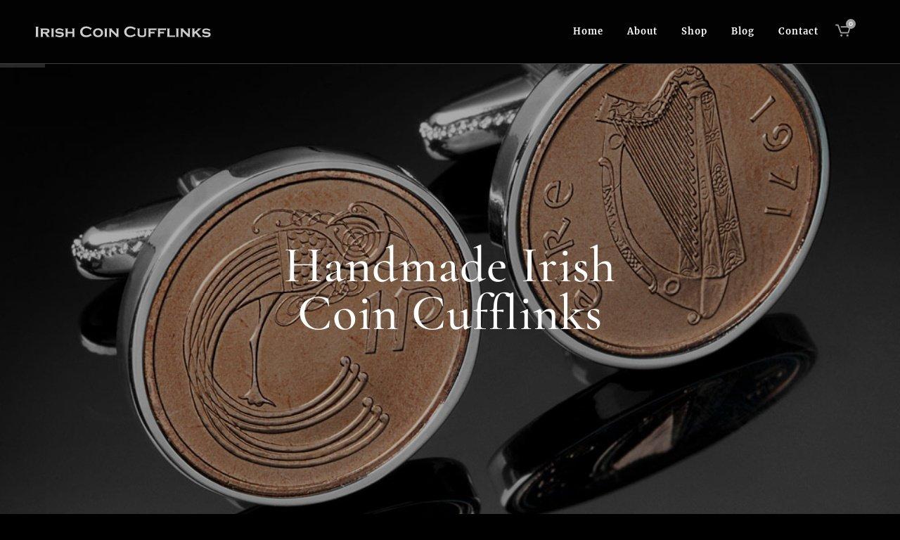 IrishCoinCuffLinks.com 1