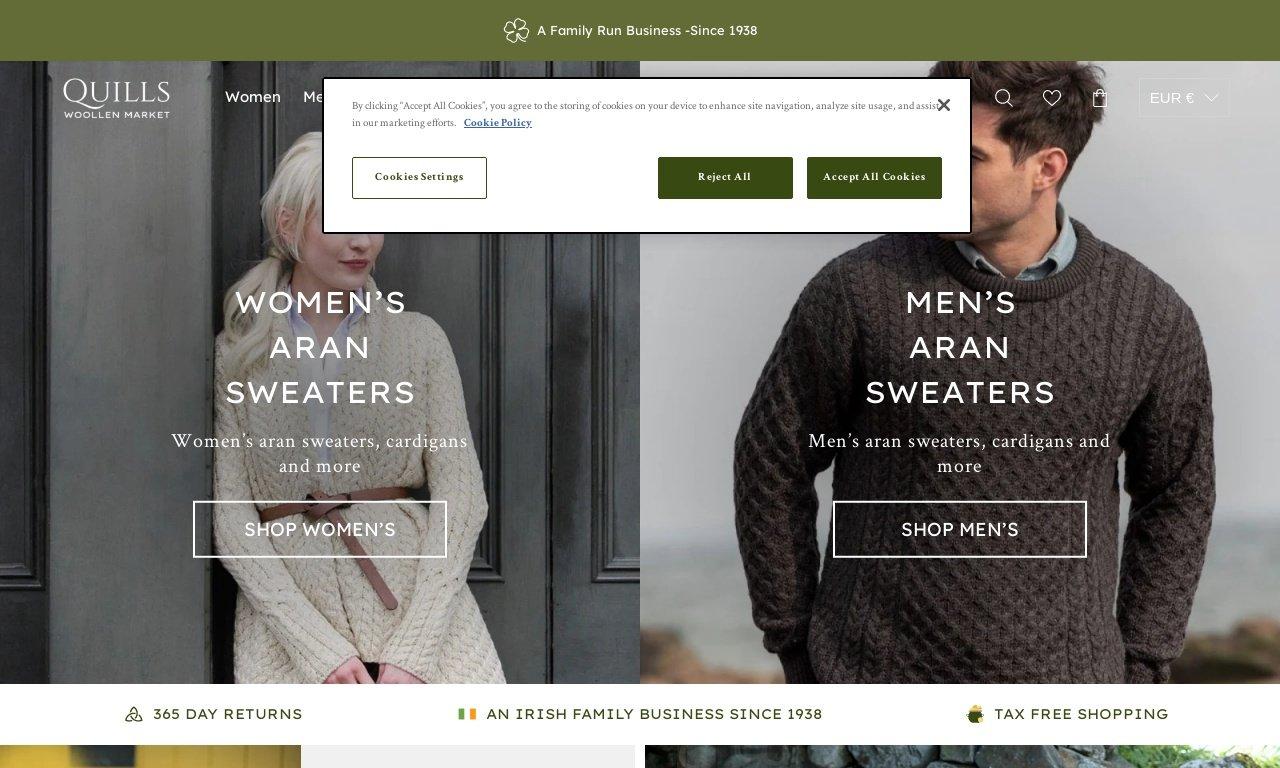 Irishgiftsandsweaters.com 1