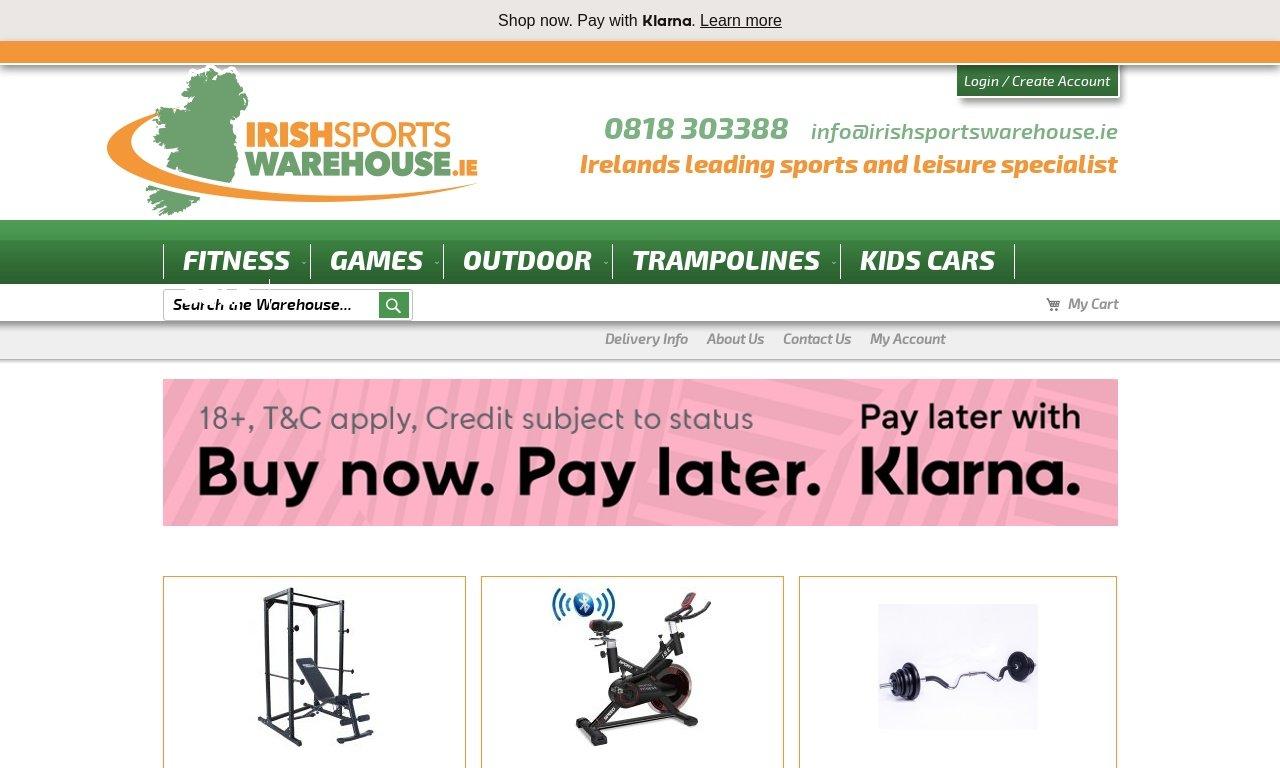 IrishSportsWarehouse.ie 1