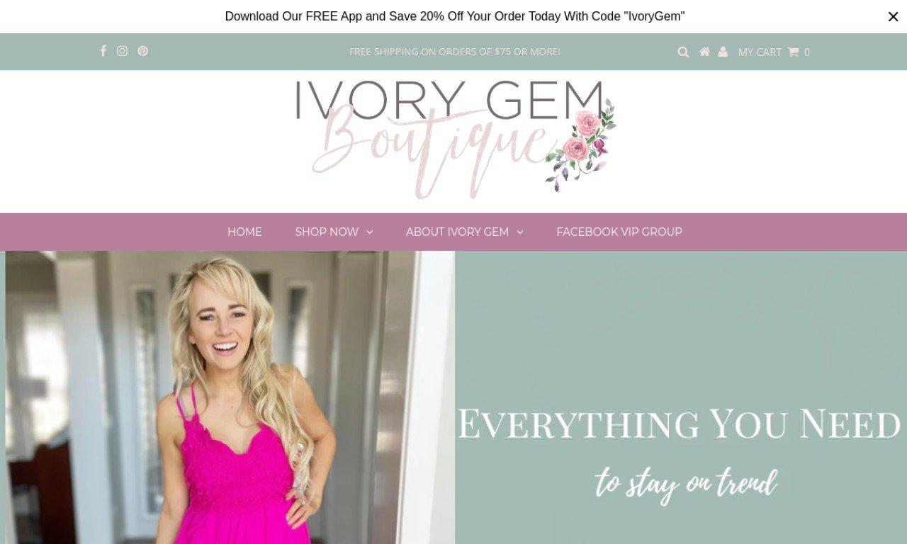 Ivorygem.com 1