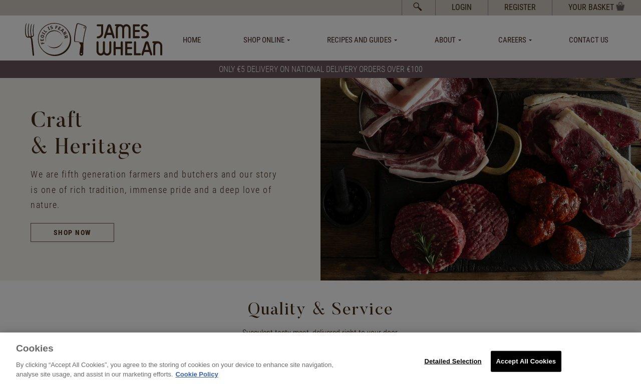Jameswhelanbutchers.com 1