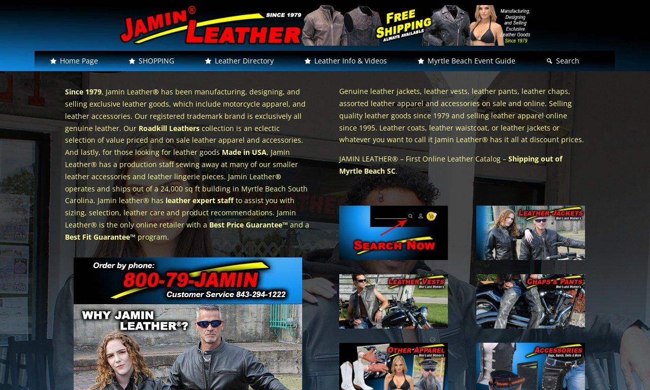 Jaminleather.com 1
