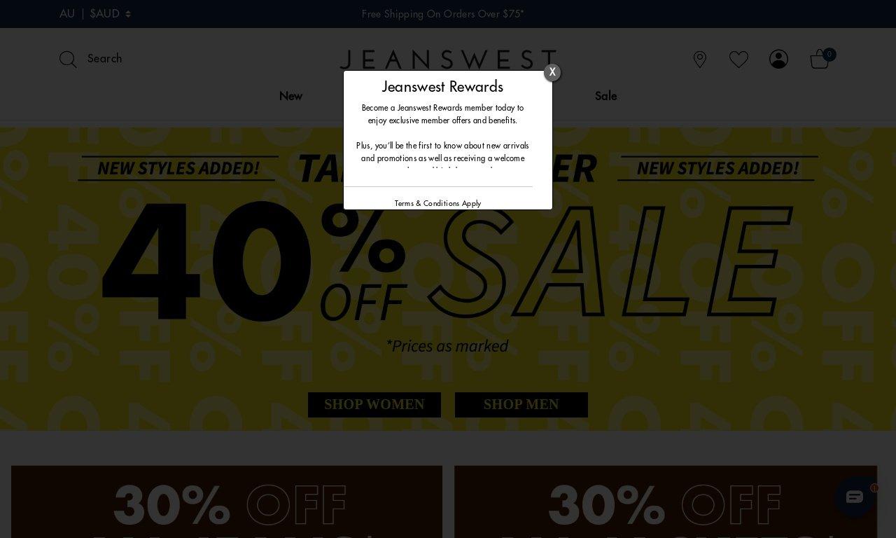 Jeanswest.com.au 1