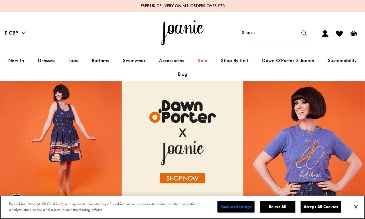 Joanieclothing.com 1