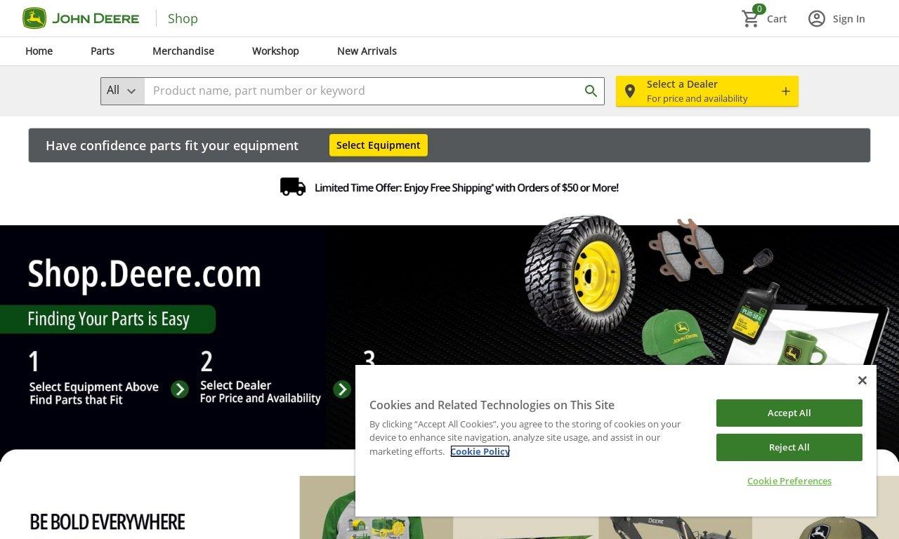 Johndeerestore.com 1