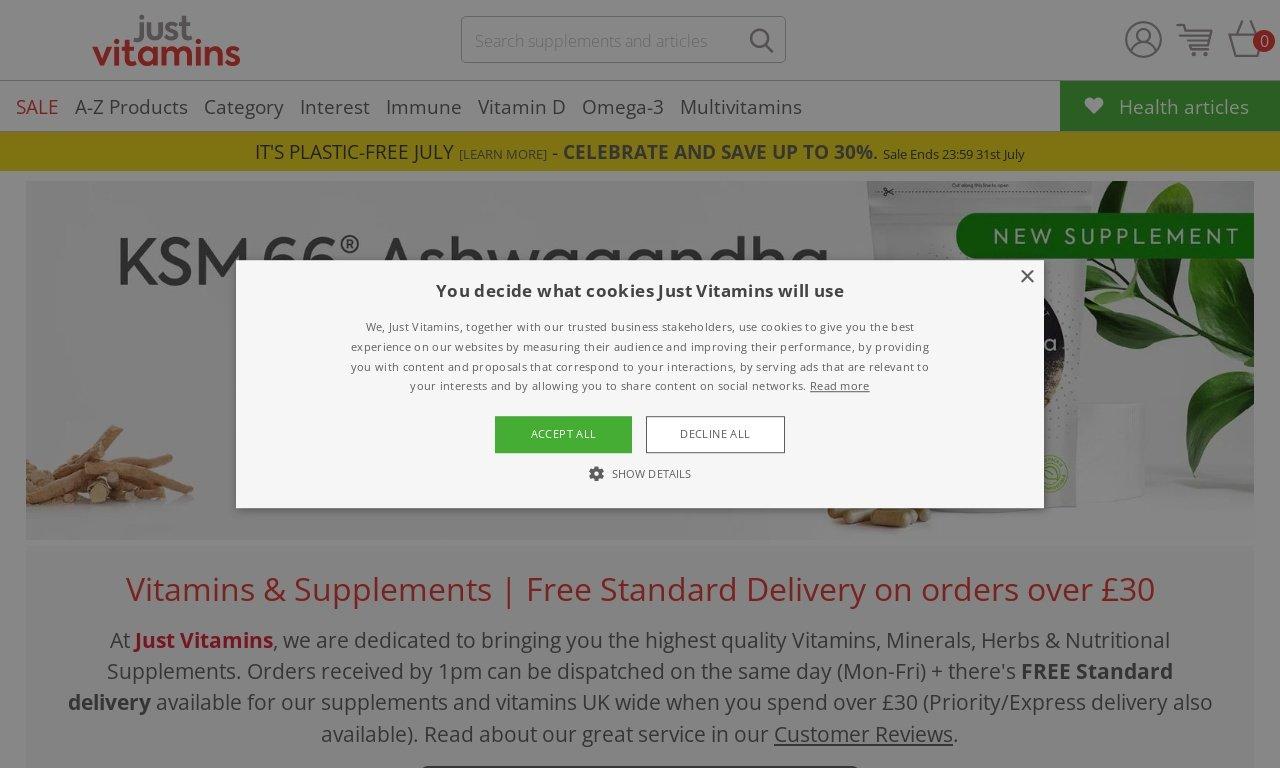 JustVitamins.co.uk 1