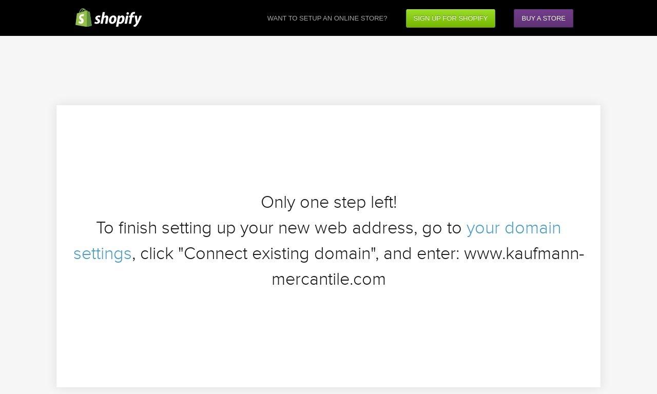 Kaufmann-Mercantile.com 1