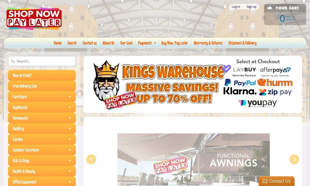 Kings warehouse.com.au 1
