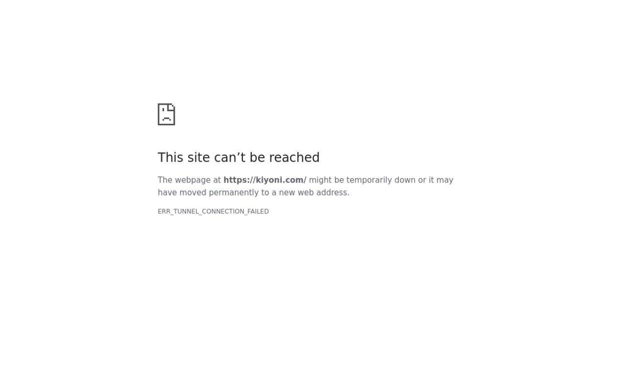 Kiyoni.com 1