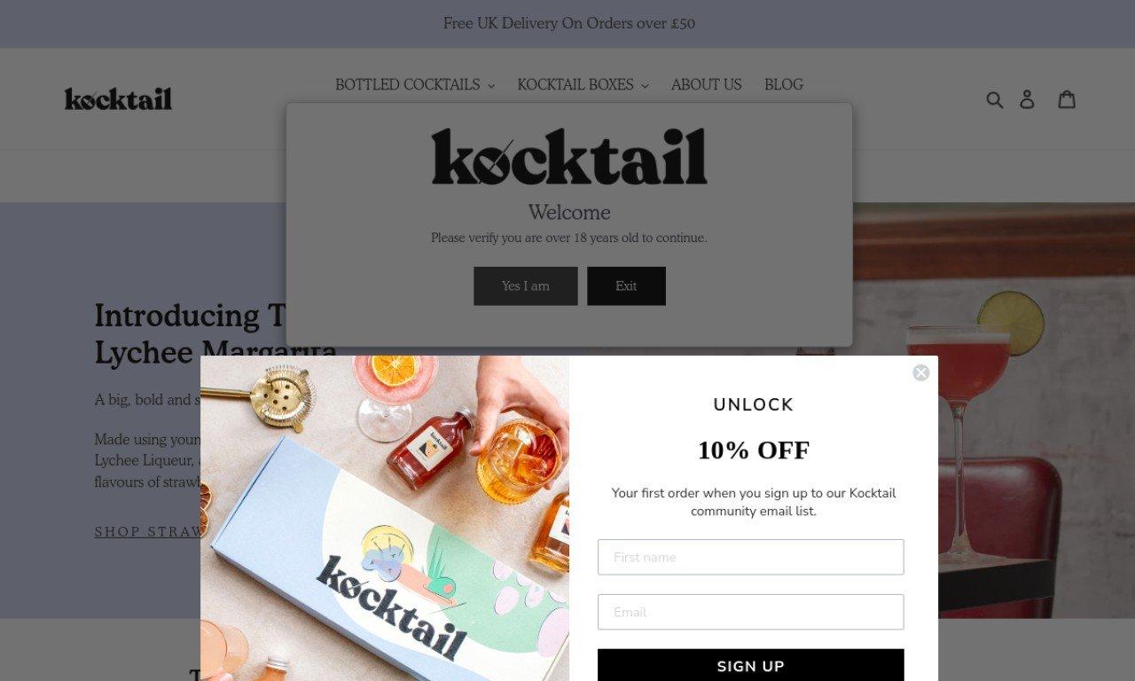 Kocktail.co.uk 1