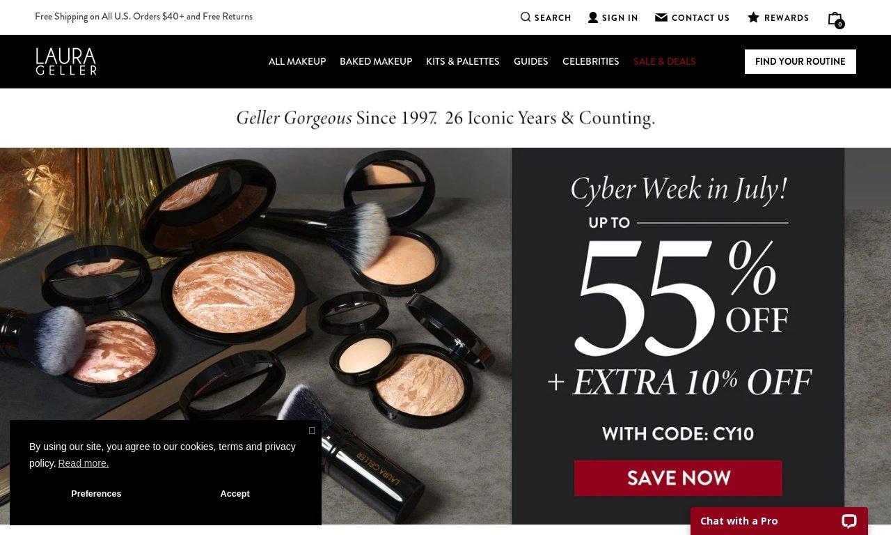 Laura geller.com 1