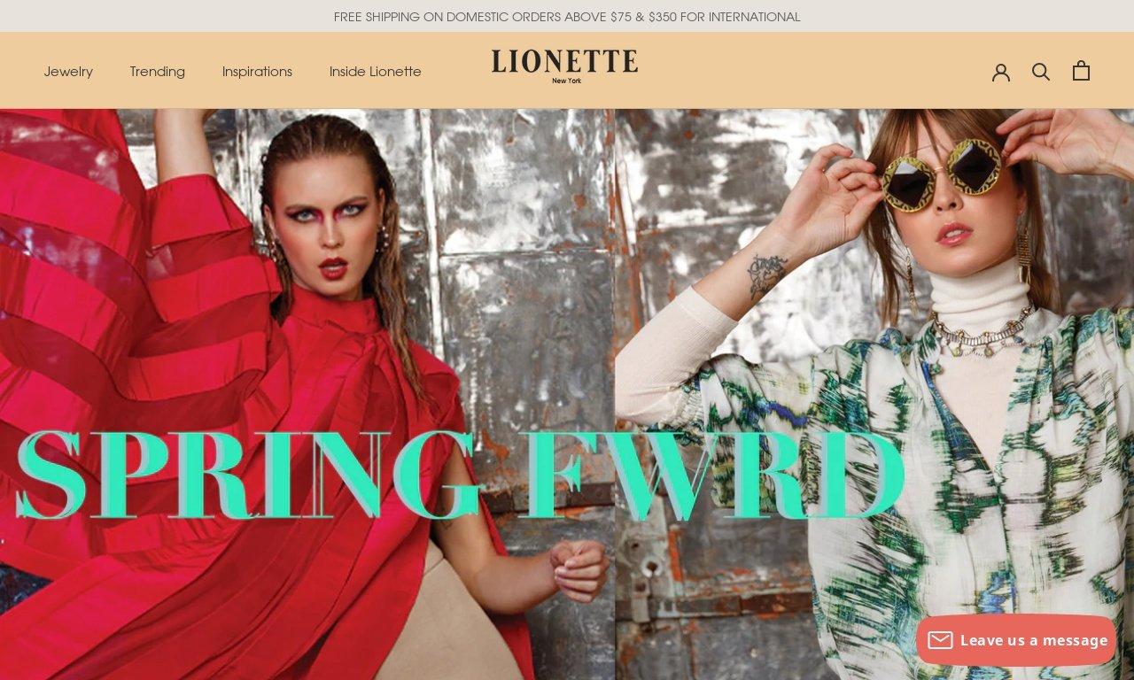 LionetteNY.com 1