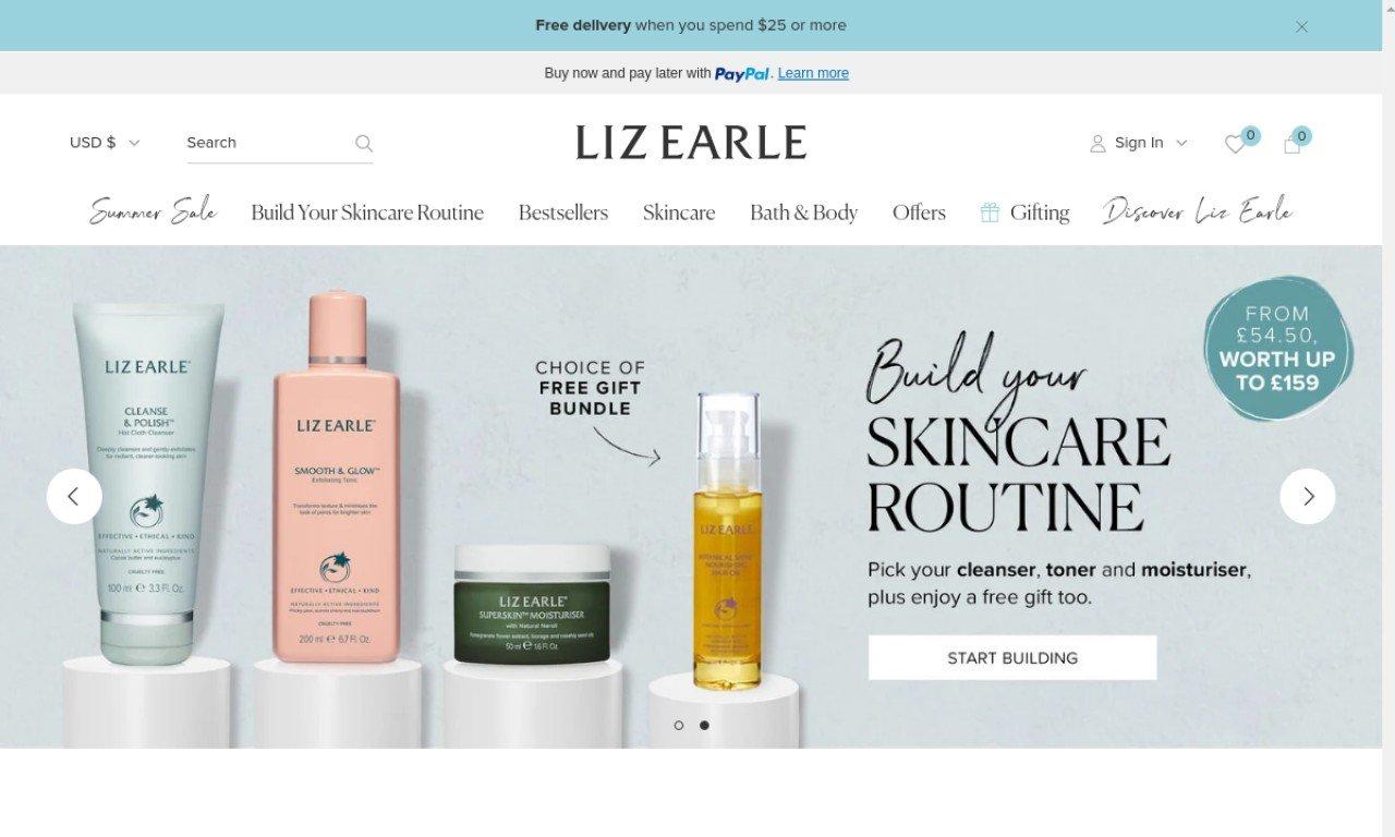 Liz earle.com 1