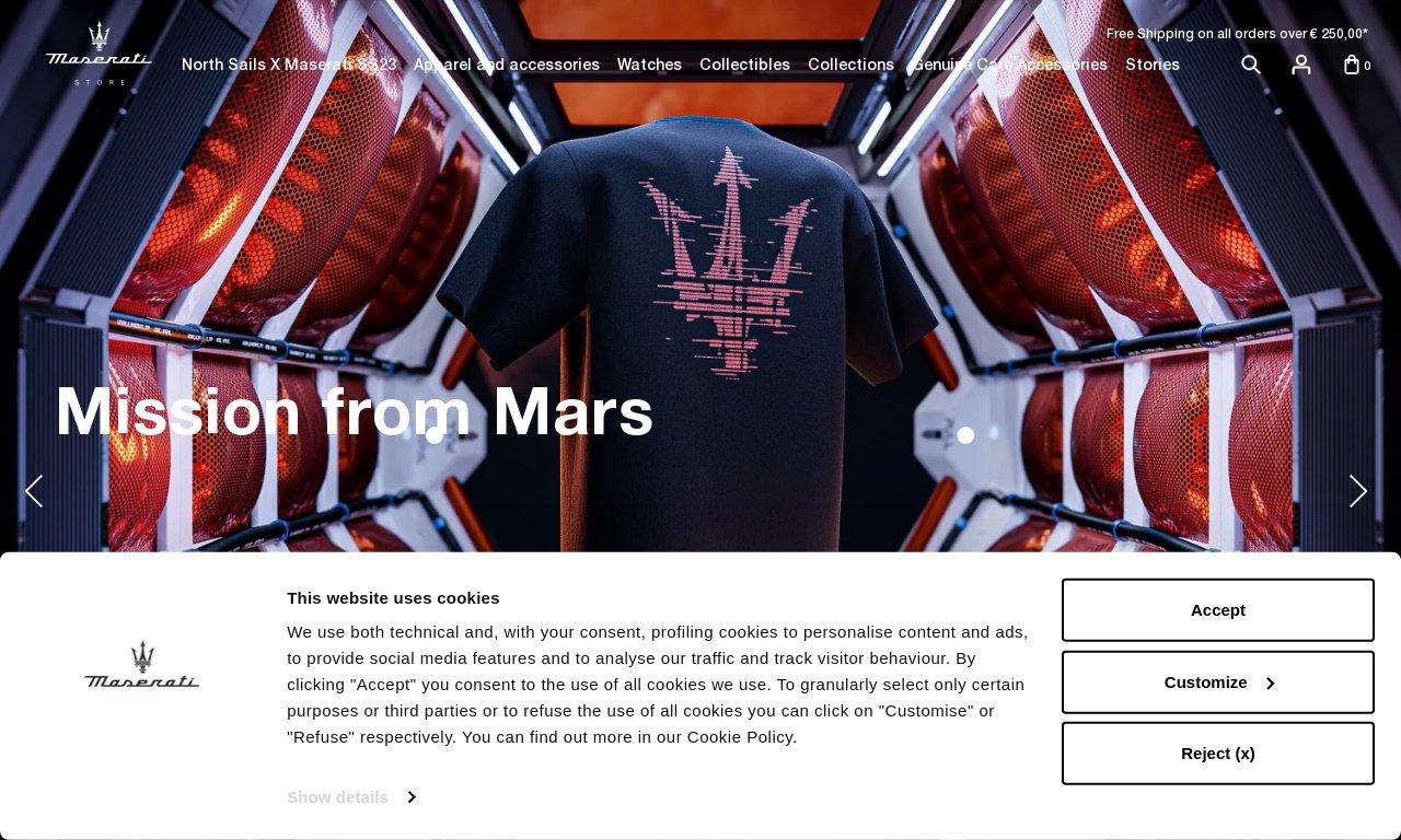 MaseratiStore.com 1