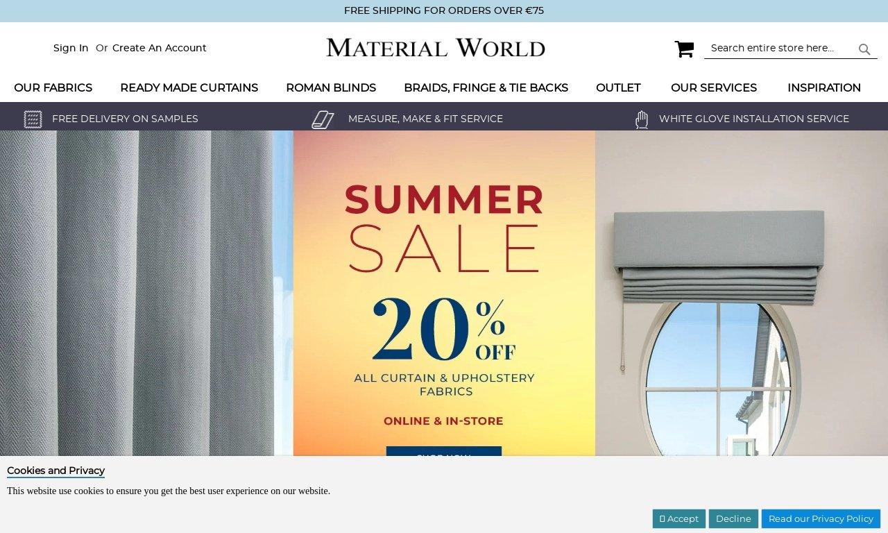 Materialworldireland.com 1